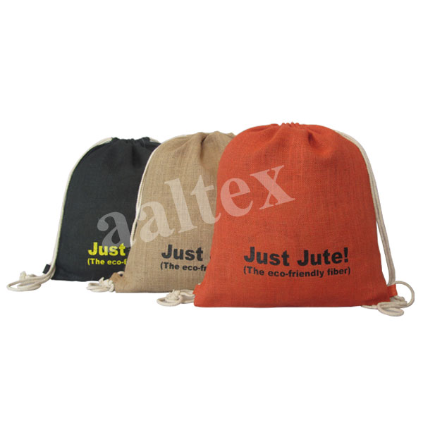 Jute Backpacks