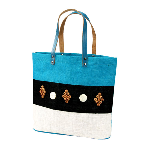 Jute Embroidered Bags, Designer and Fancy Jute Bags India