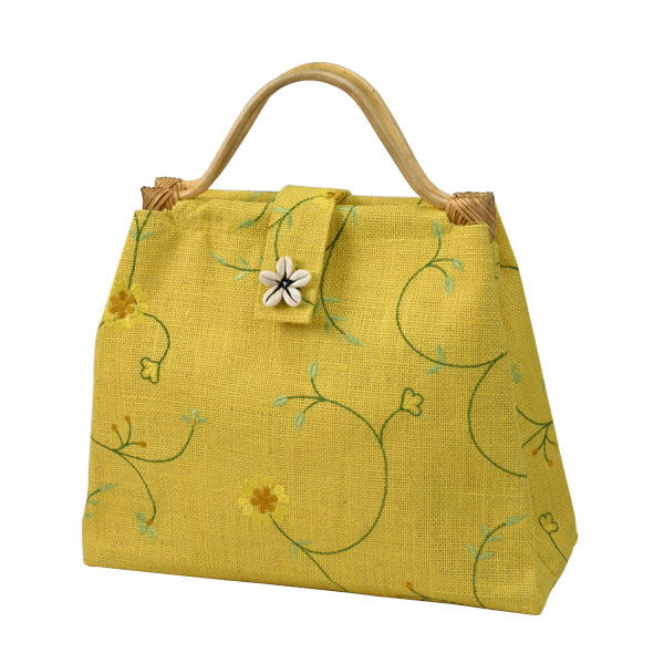 Jute Embroidered Bag Item Code Ai 1516346 Size 45x30x15 Cms